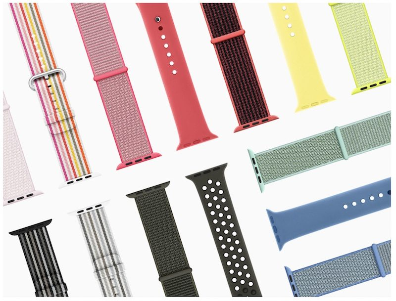 apple watch spring collection bands