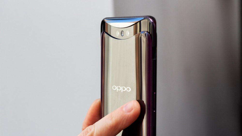 Oppo Find X camera popped up e1531482254396