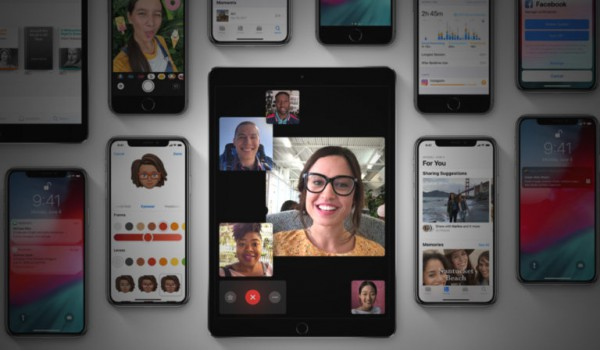 iOS 12 FaceTime 768x448