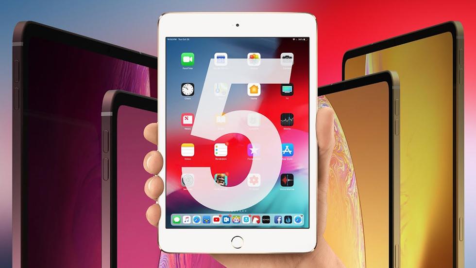 iPad mini 5 tcena 1