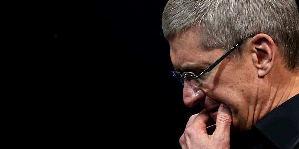 tim cook sad cry