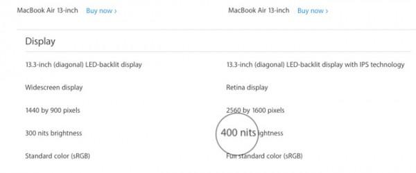 30632 50398 nit change macbook air l