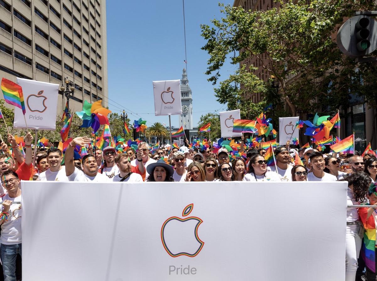 tim cook SF pride 2019