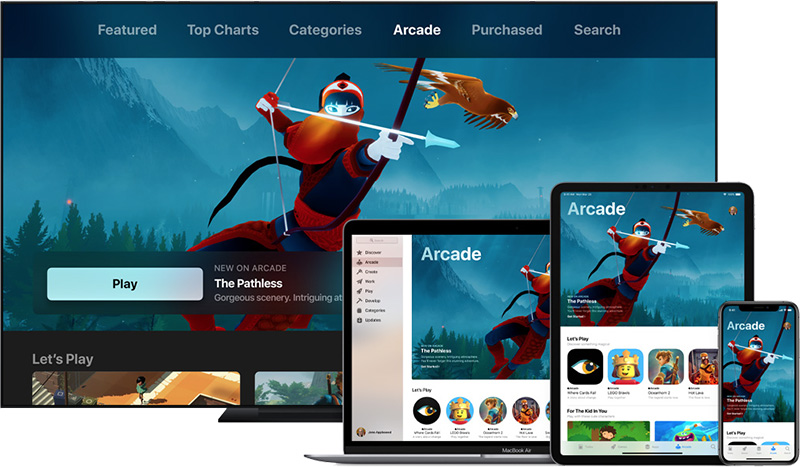 apple arcade devices