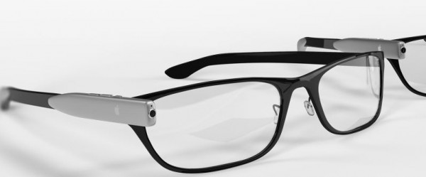 apple glasses concept mockup