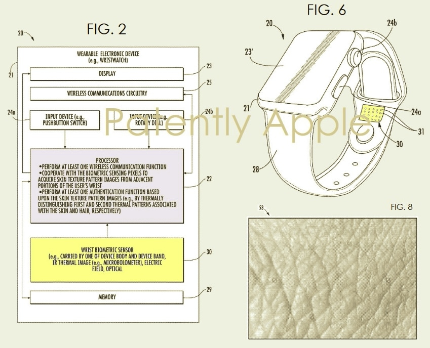 apple watch patent application
