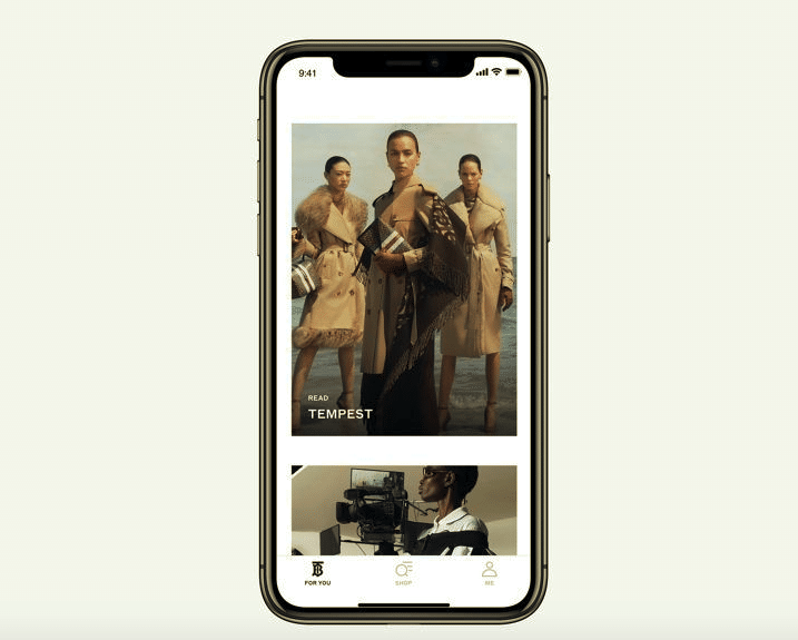 burberry app