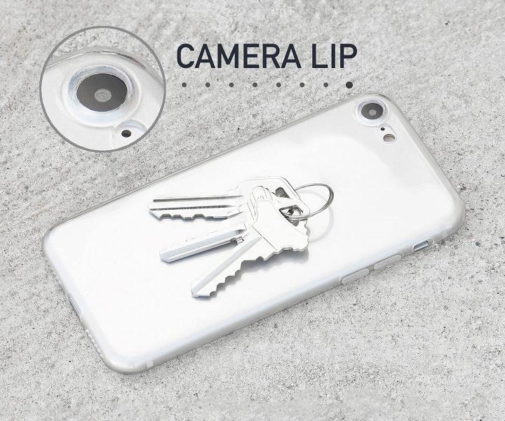 thin iphone se 2 case camera protection large