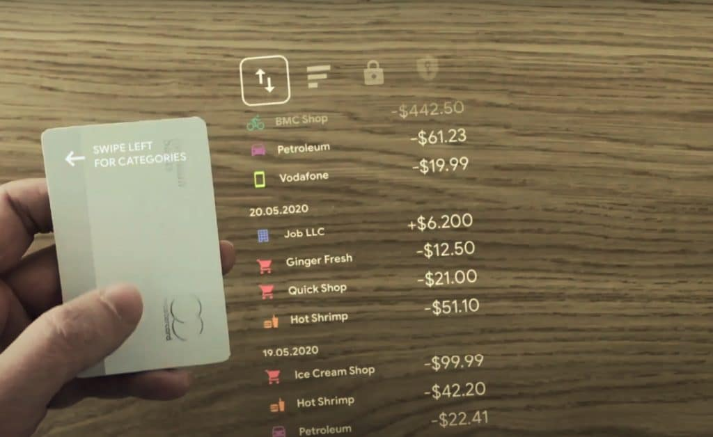 apple card concept