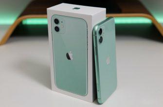 коробка iphone 11